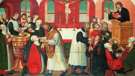 Thanks to Hans Tausen's efforts, Denmark adopted Lutheranism in 1537 (photo: National Museum)
