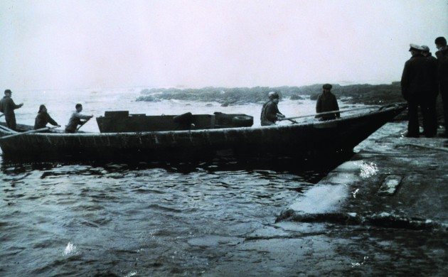 A Umiak Just Like The One Walloe Used On His Expedition It Was Ideally Suited To Navigating Shallow Water And Creeping Up Unsuspecting Harbour Masters
