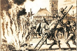 To paraphrase Blackadder, was Denmark's preference for burning witches simply wasting good ladders? (photo: Jan Luyken)