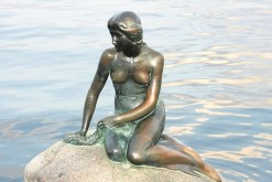 She's lost her arm and her head (twice), but the Little Mermaid still prevails (photo: Colourbox)