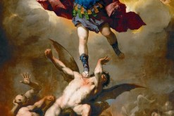 Christianity's most revered warrior tends to be Archangel Michael (photo: Luca Giordano (1632–1705)