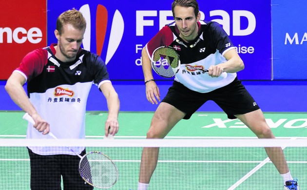 Boe and Mogensen are ranked third in the world in men's doubles (Photo: Pierre-Yves Beaudouin)