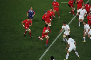 The Globe, Sat 21:00  Rugby World Cup: England vs Wales