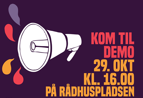 Demonstration to shut down central Copenhagen today