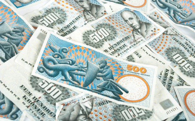 Loads more counterfeit money fluttering about in Denmark