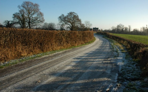 Slippery roads a risk in some areas of Denmark this morning