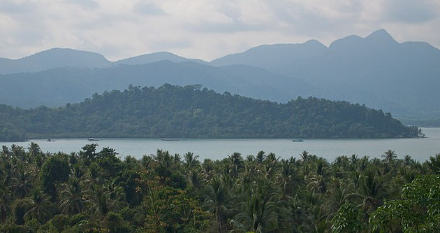 The body of a Danish woman was found in the waters off Koh Chang in Thailand (photo: Koh Chang)