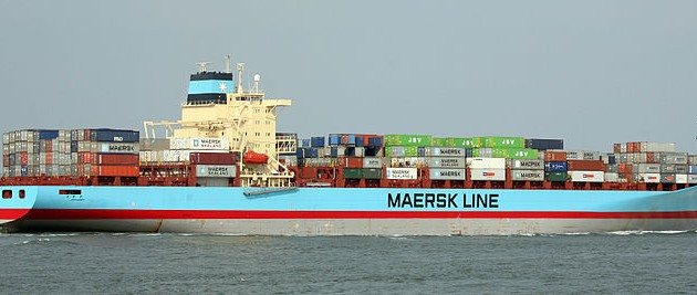 Maersk's deal with the US military will end in February 2017 (photo: Bertknot)
