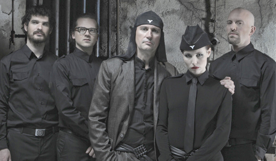 This motley crew are rethinking Maria (photo: Gruppe LAIBACH)