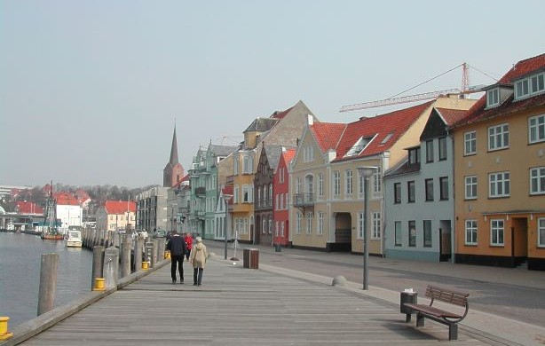 The peaceful streets of Sønderborg have been the scene of unpleasant attacks recently (photo: Arne Litz)