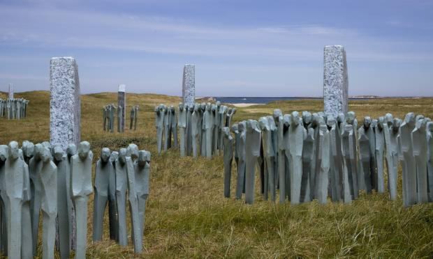 The park spreads across the dunes along the North Sea near Thyborøn (photo: Press photo)
