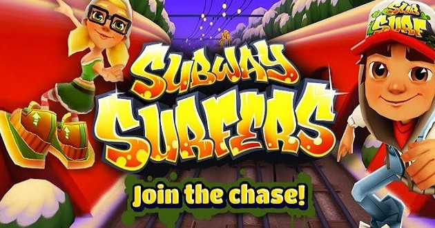 Subway Surfers was last year's number one download (photo: Kiloo)