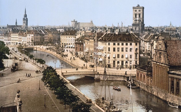 A view of Copenhagen in 1890-1900 (photo: Detroit Publishing Co.)