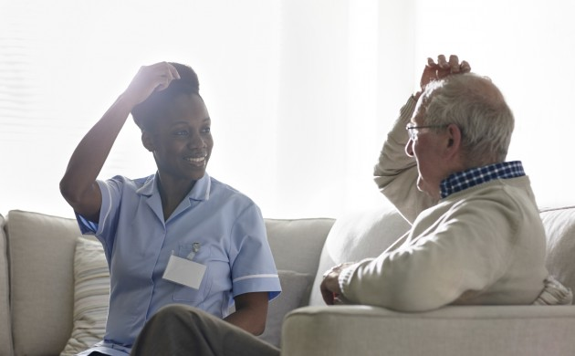 Quality time with the professionals can help relieve loneliness and anxiety (Photo: iStock)