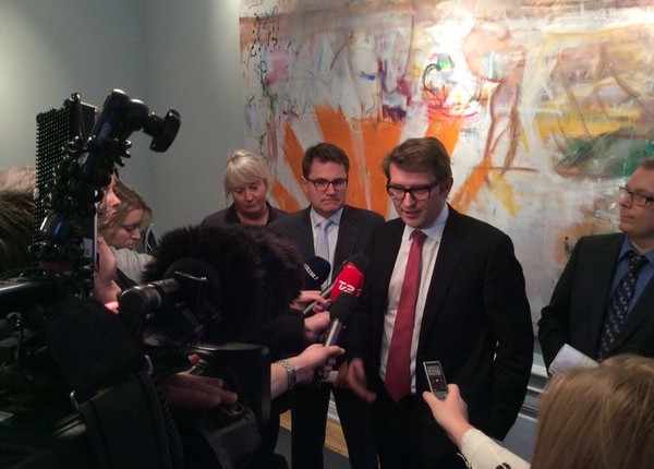 The business and growth minister, Troels Lund Poulsen, was pleased with the deal (photo: Business and Growth Ministry)