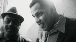 Dexter Gordon and Ben Webster (photo: http://jazzfilmfest.com)