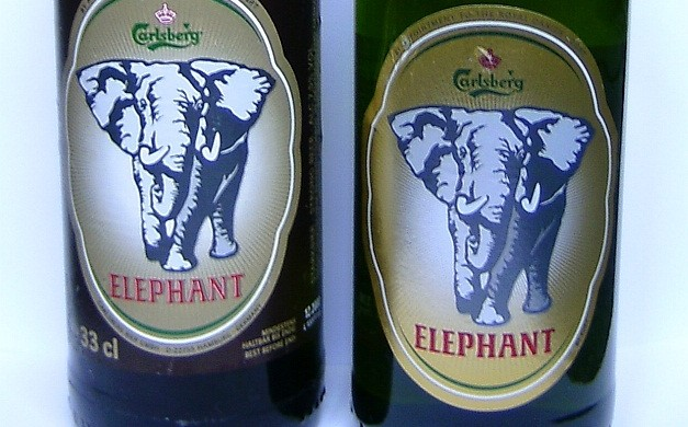 The Elephant Beer brand is easily recognisable (photo: Kungfuman)