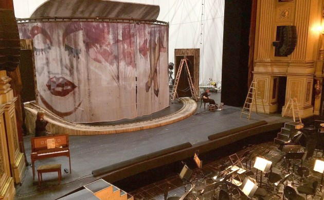 The Marriage of Figaro stage is ready for action (photo: KGL Facebook page)