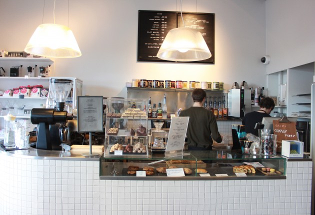 This cosy café is perfect for those that want their coffee first