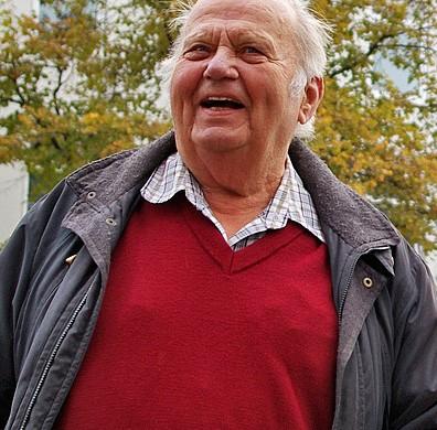 Ove Verner Hansen spent his entire life in Helsingør (photo: Paul Wenzel)