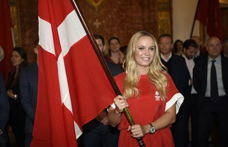 Caroline Woniacki to hoist Dannebro high in Rio (photo: DIF)