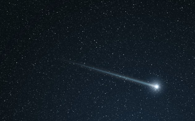 Unfortunately, the meteorite hasn't been recorded on camera directly. (photo: iStock)