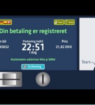 Payment will be made using the vehicle's number-plate (photo: kk.dk)