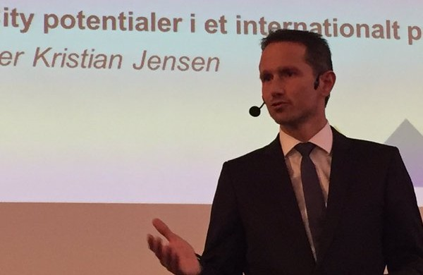 Kristian Jensen will be at hand to debate Denmark's aid policy (photo: Kristian Jensen)