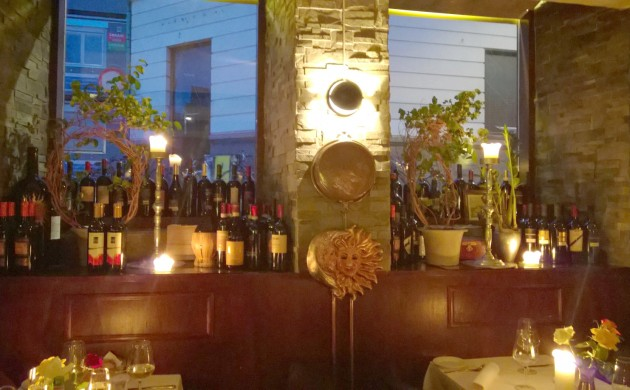 The warm and cosy refuge that is Ristorante Sole d'Italia