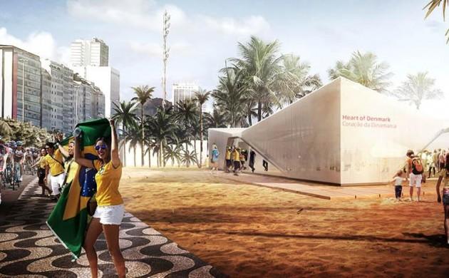 The heart of Denmark in the heart of Rio 2016 (photo: Henning Larsen Architects)