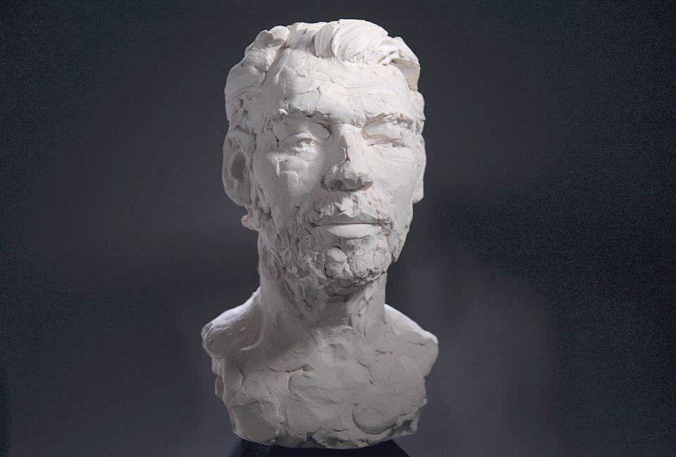 Hans Pauli Olsen's sculpture