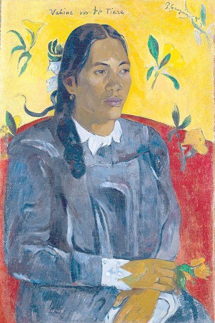 a portrait by Paul Gauguin