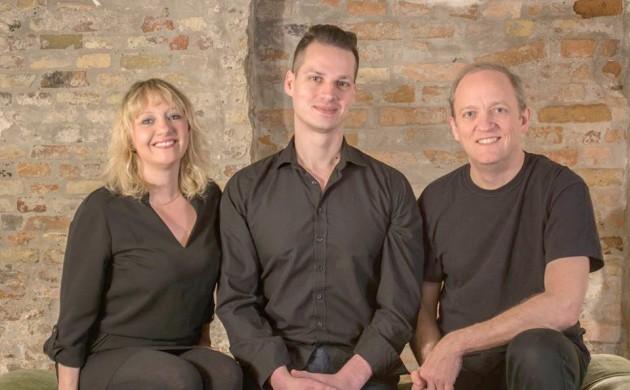 Vanessa Poole, Jeremy Thomas-Poulsen and Jens Blegaa.