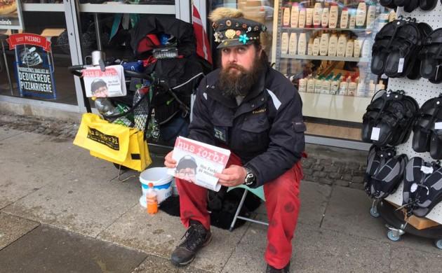 Бездомные создали выставку, посвященную истории их жизни на улицах датских городов