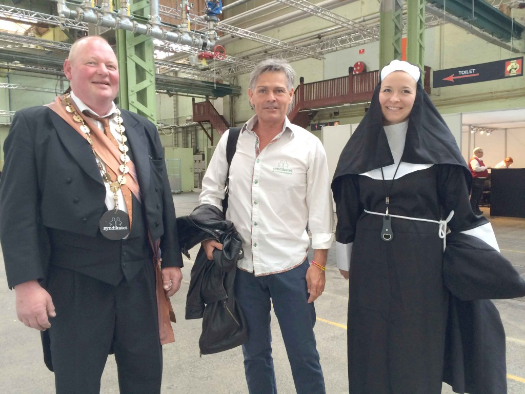 The Mayor, The Psycopath and The Nun