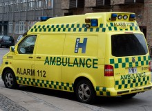 Bios has struggled to provide the agreed number of ambulances since it took over from Falck (photo: Heb)