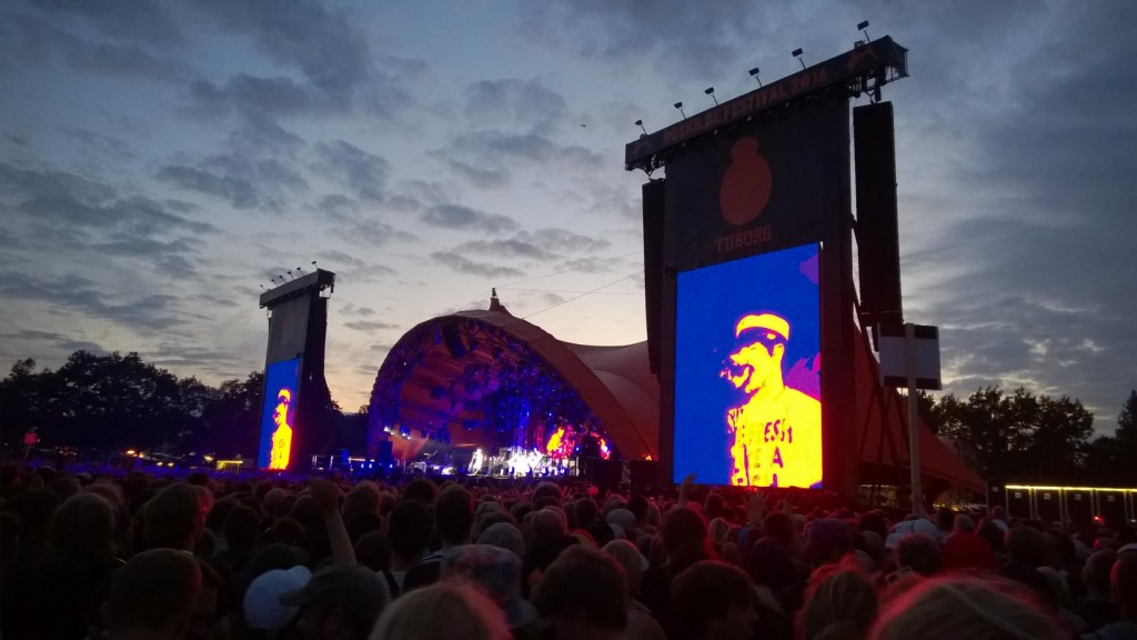 Red Hot Chili Peppers played an amazing concert on the Orange stage