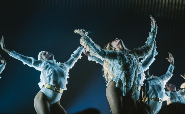 Beyonce performs during the Formation World Tour (photo: Timothy McGurr/Invision for Parkwood Entertainment/AP Images)