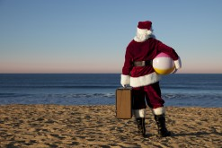 Holiday time! Santas from around the globe are enjoying the summer in Denmark (photo: iStock)