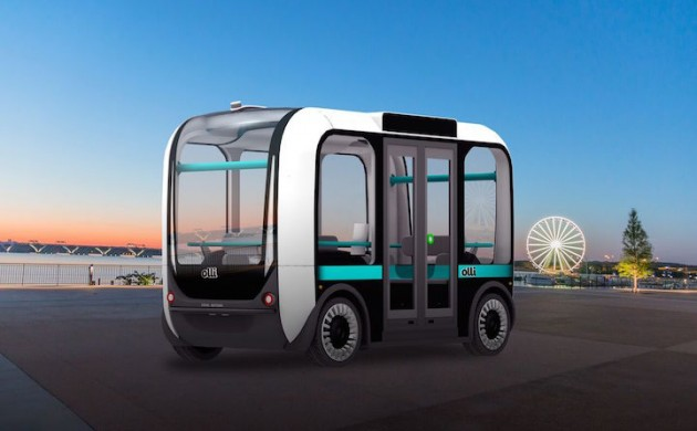 Olli, the self-driving city bus (photo: Local Motors)