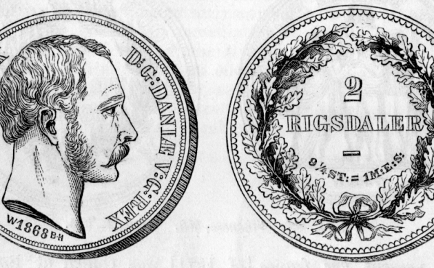 2 rigsdaler from 1868 (photo: unknown)