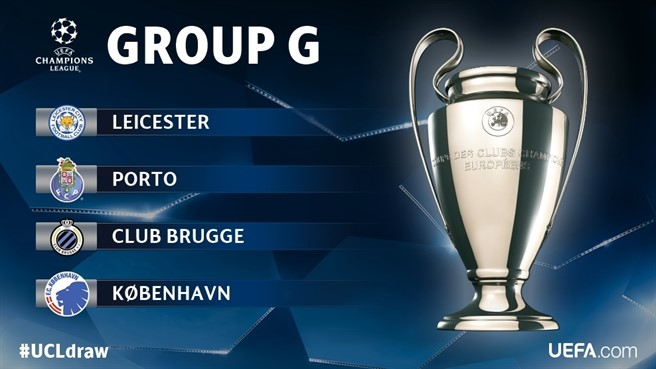 Group G looking good for the Lions (photo: UEFA)