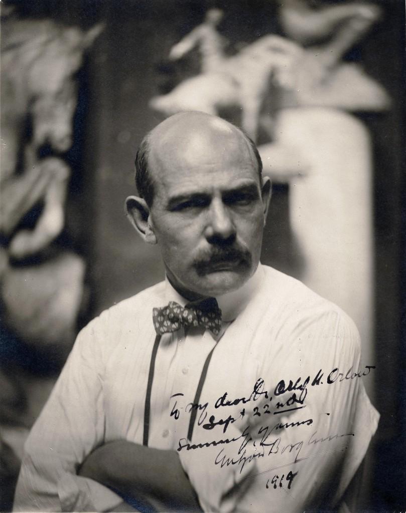 Gutzon Borglum (photo: Archives of American Art Journal)