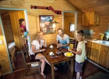 The Wild West Cabin's accommodation fell beneath the Scottish politician's standards (photo: legolandholidays.dk)