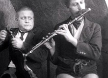 Carl Schenstrøm and Harald Madsen in1933 (photo: Tonny Nielsen - YouTube)