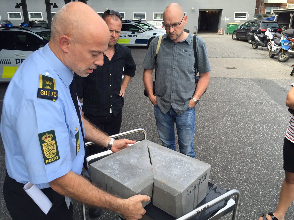 The police are on the case (photo: Funen Police)