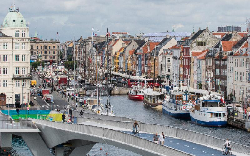 It's no wonder since it's the quickest route between Nyhavn and Christiania  (photo: KK.dk)