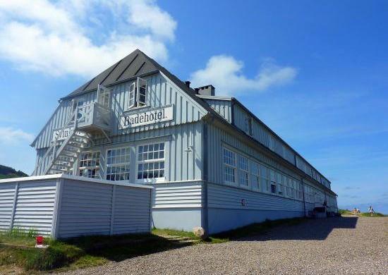 В городе Фьерритслев дотла сгорел исторический Svinkløv Badehotel