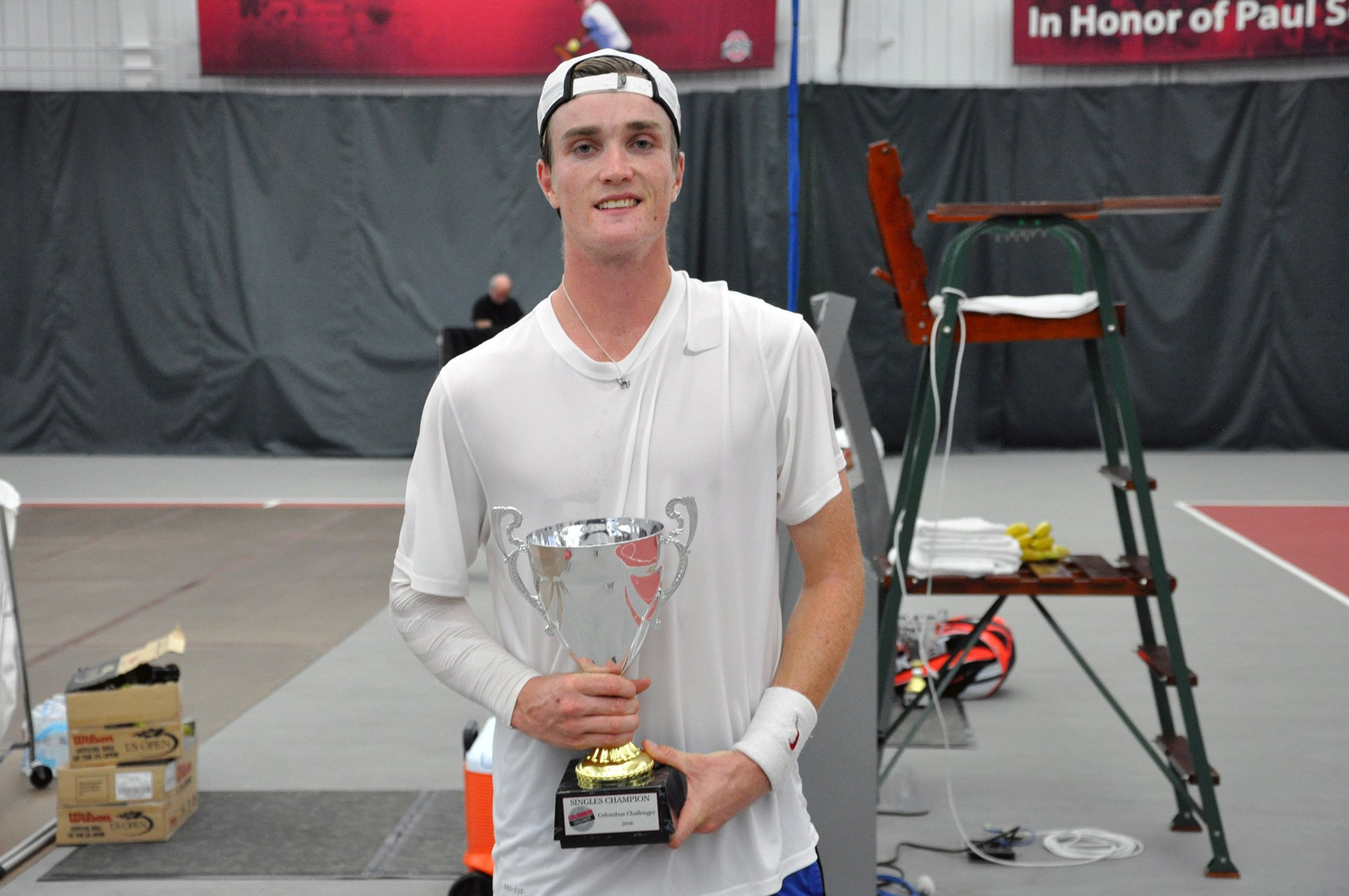 Mikael Torpegaard wins Challenger tourney in first attempt (photo: OSU)