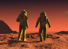 A giant leap by this mission could lead to some small steps for man on the Martian landscape sooner than you might think (photo: iStock)